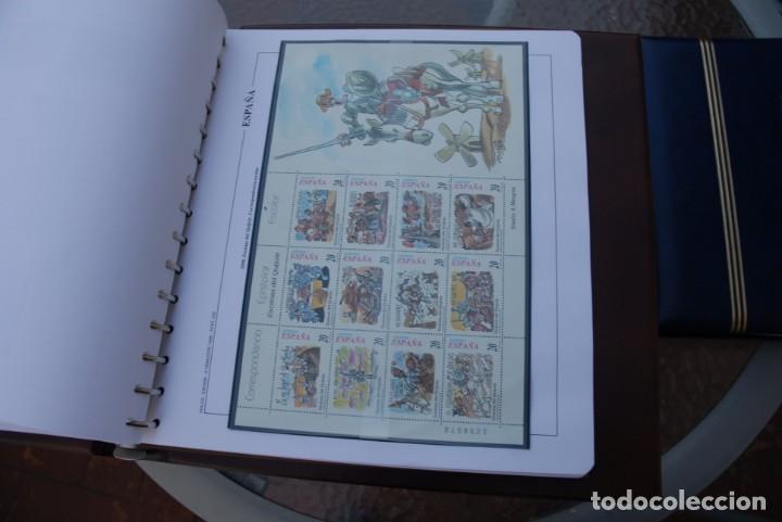 Sellos: ALBUM COLECCIÓN SELLOS ESPAÑA AÑOS 1992-1998. Hojas Philos. Nuevos. Completa. Ver fotos. - Foto 77 - 206839093