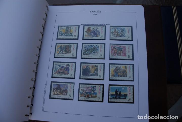 Sellos: ALBUM COLECCIÓN SELLOS ESPAÑA AÑOS 1992-1998. Hojas Philos. Nuevos. Completa. Ver fotos. - Foto 79 - 206839093