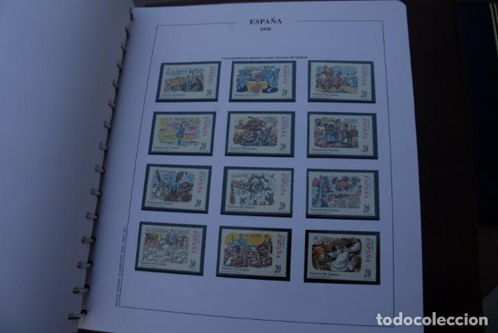 Sellos: ALBUM COLECCIÓN SELLOS ESPAÑA AÑOS 1992-1998. Hojas Philos. Nuevos. Completa. Ver fotos. - Foto 80 - 206839093
