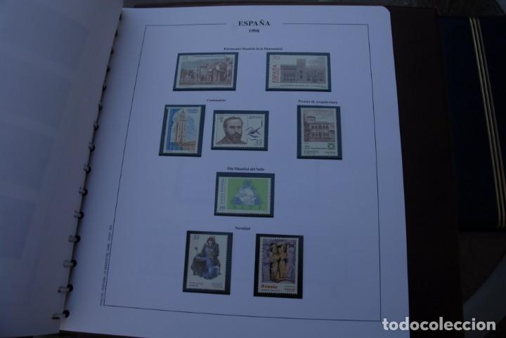 Sellos: ALBUM COLECCIÓN SELLOS ESPAÑA AÑOS 1992-1998. Hojas Philos. Nuevos. Completa. Ver fotos. - Foto 81 - 206839093