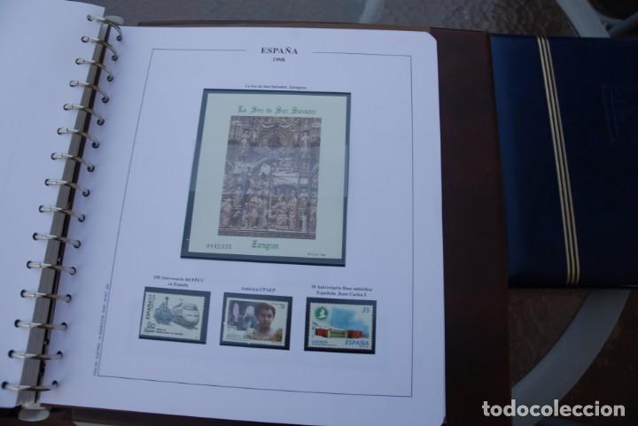 Sellos: ALBUM COLECCIÓN SELLOS ESPAÑA AÑOS 1992-1998. Hojas Philos. Nuevos. Completa. Ver fotos. - Foto 82 - 206839093