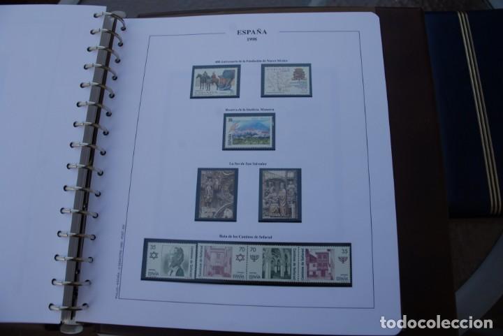 Sellos: ALBUM COLECCIÓN SELLOS ESPAÑA AÑOS 1992-1998. Hojas Philos. Nuevos. Completa. Ver fotos. - Foto 83 - 206839093