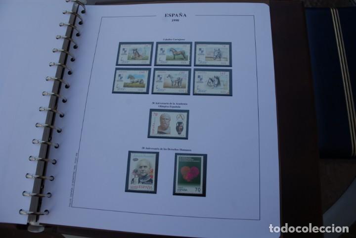 Sellos: ALBUM COLECCIÓN SELLOS ESPAÑA AÑOS 1992-1998. Hojas Philos. Nuevos. Completa. Ver fotos. - Foto 85 - 206839093