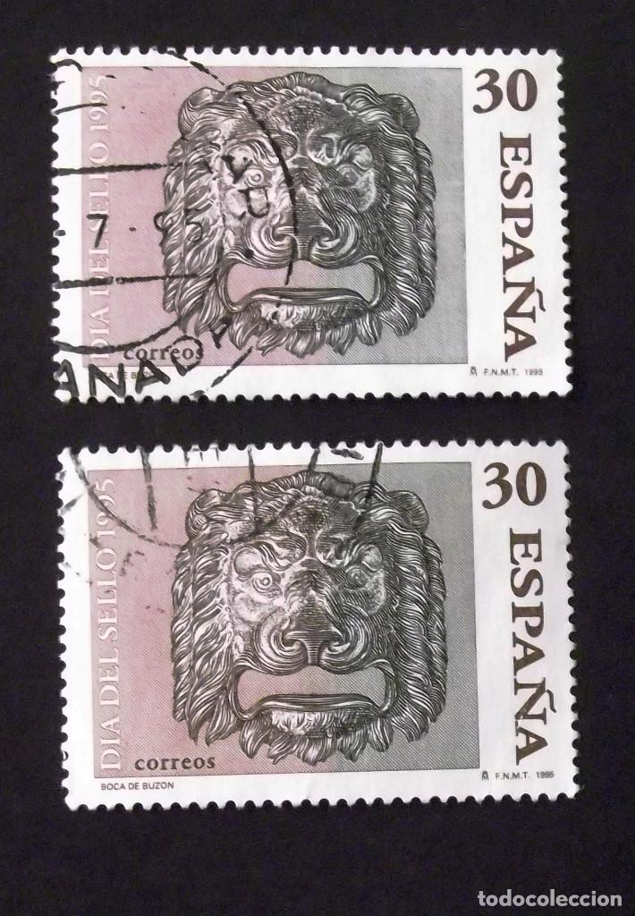 3346, DOS SERIES EN USADO. SELLO. (Sellos - España - Juan Carlos I - Desde 1.986 a 1.999 - Usados)