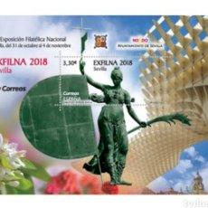 Sellos: ESPAÑA, N°5264 MNH, HB EXFILNA 2018. SEVILLA. Lote 207023085