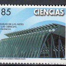 Sellos: ESPAÑA 2000 - EDIFIL 3711 - CIENCIAS. Lote 207039602