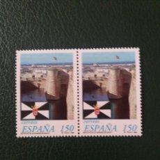 Sellos: 2 SELLOS ESPAÑA, 150 PTAS, CEUTA,1998, NUEVOS.. Lote 207130150