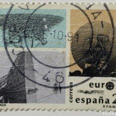 Sellos: SELLO ESPAÑA, INTA NASA, 1991. Lote 207207233