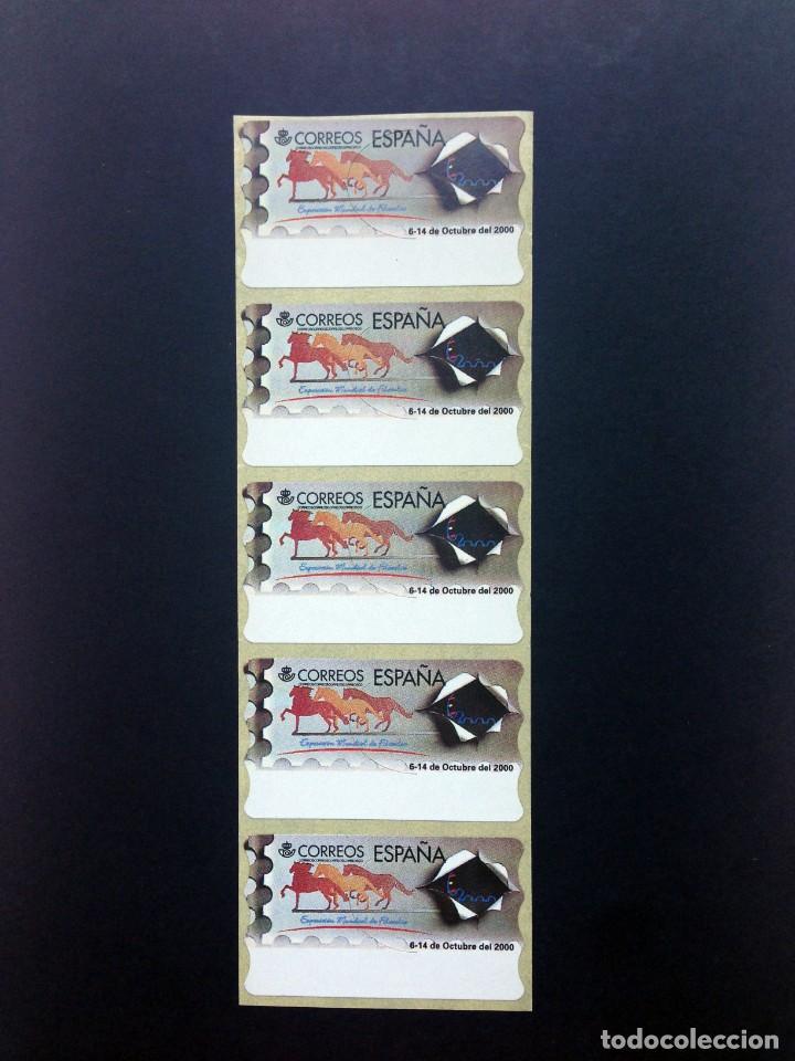 ESPAÑA.AÑO 1999.ATMS./EXPOSICIÓN MUNDIAL DE FILATELIA (Sellos - España - Juan Carlos I - Desde 1.986 a 1.999 - Nuevos)