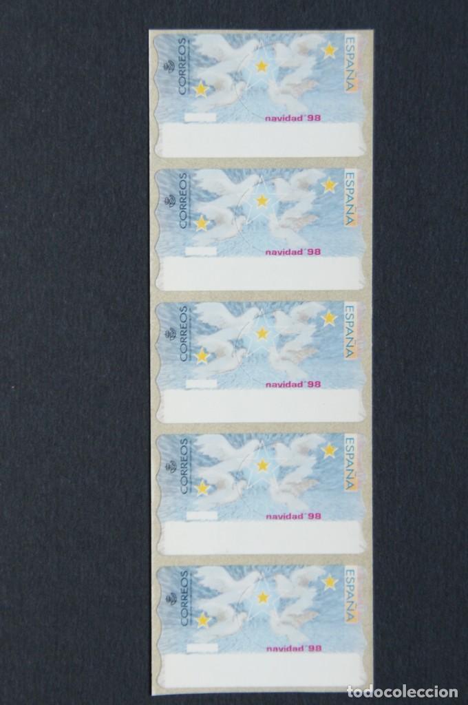 ESPAÑA.ATMS AÑO 1999./ETIQUETA POSTAL NAVIDAD 98. (Sellos - España - Juan Carlos I - Desde 1.986 a 1.999 - Nuevos)