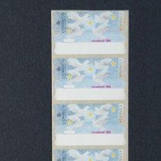 Sellos: ESPAÑA.ATMS AÑO 1999./ETIQUETA POSTAL NAVIDAD 98.. Lote 207218242