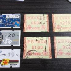Selos: LOTE ATM CIRCULADOS.. Lote 207815548