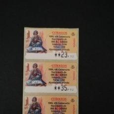 Sellos: ESPAÑA. ETIQUETA POSTAL ATMS. IBN AL-ABBAR. ONDA. Lote 207196100