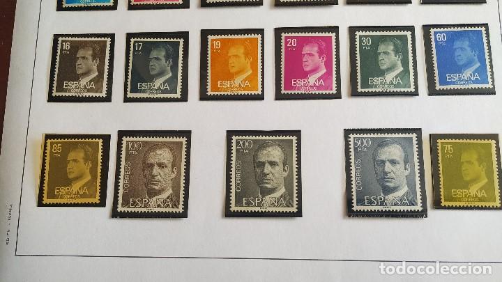 Sellos: Lote Series básicas Juan Carlos I . 29 valores . Nuevos. - Foto 3 - 208238632