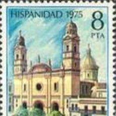 Selos: EDIFIL 2296 SELLOS ESPAÑA AÑO 1975 USADOS HISPANIDAD. Lote 208378372