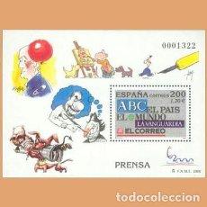 Francobolli: NUEVO - EDIFIL 3766 SIN FIJASELLOS - SPAIN 2000 MNH. Lote 208427938