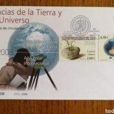 Sellos: ESPAÑA, N°4387/88, CIENCIAS DE LA TIERRA Y DE LA NATURALEZA 2008 (FOTOGRAFÍA REAL). Lote 208742156