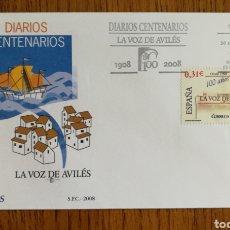 Sellos: ESPAÑA, SOBRE N°4386 DIARIOS CENTENARIOS 2008 (FOTOGRAFÍA REAL). Lote 208746680