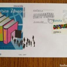 Sellos: ESPAÑA, SOBRE N°4353 AMÉRICA - UPAEP 2007 (FOTOGRAFÍA REAL). Lote 208747960