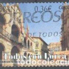 Francobolli: ESPAÑA - AÑO 2012 - EDIFIL 4693 - TODOS CON LORCA - USADO. Lote 208752013