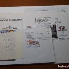Sellos: SELLOS ESPAÑA AÑO 1987 COMPLETO SPD NUEVOS. Lote 209329661