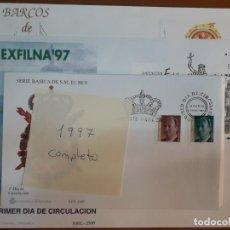 Sellos: SELLOS ESPAÑA AÑO 1997 COMPLETO SPD NUEVOS. Lote 209331613