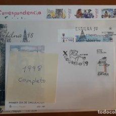 Sellos: SELLOS ESPAÑA AÑO 1998 COMPLETO SPD NUEVOS. Lote 209331646