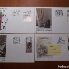Sellos: SELLOS ESPAÑA SPD ANDORRA 1996. Lote 209360448