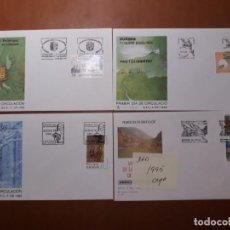 Sellos: SELLOS ESPAÑA SPD ANDORRA 1995. Lote 209360495