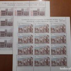 Selos: SELLOS ESPAÑA AÑO 1998 2 MINIPLIEGOS PATRIMONIO DE LA HUMANIDAD V. CAT. 34€. Lote 209595431