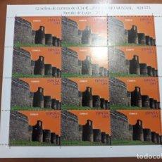 Selos: SELLOS ESPAÑA AÑO 2010 MINIPLIEGO PATRIMONIO MUNDIAL MURALLA DE LUGO V. CAT. 30€. Lote 209595548
