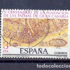 Sellos: ESPAÑA, SELLO USADO- AÑO 1978-YVERT TELLIER 2477. Lote 209761125