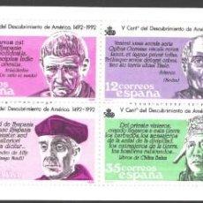 Selos: ESPAÑA, 1986 EDIFIL Nº 2860 / 2865, 2860C /**/ V CENTENARIO DEL DESCUBRIMIENTO DE AMÉRICA.. Lote 209776485