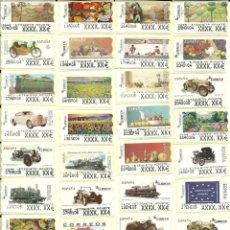Sellos: 102 ATMS , AJUSTES , DÍGITOS ANCHOS Y ESTRECHOS NUEVAS Y DIFERENTES , ESPAÑA. Lote 209979365