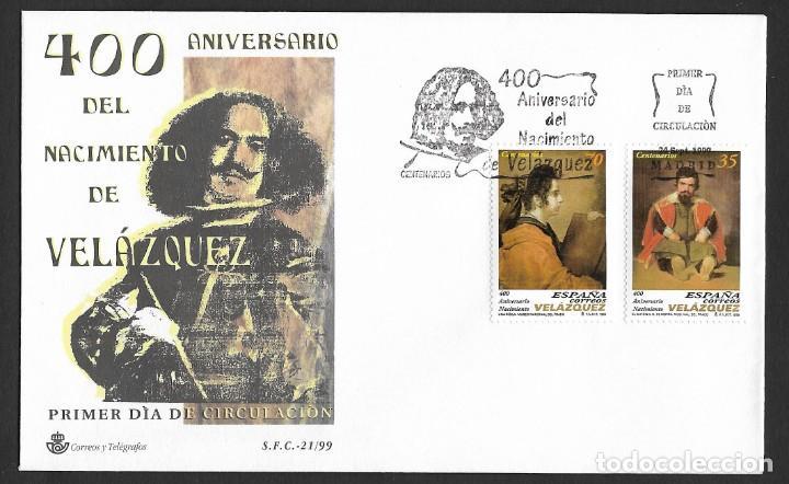 ESPAÑA - SPD. EDIFIL NSº 3658/59 CON DEFECTO AL DORSO (Sellos - España - Juan Carlos I - Desde 1.986 a 1.999 - Cartas)