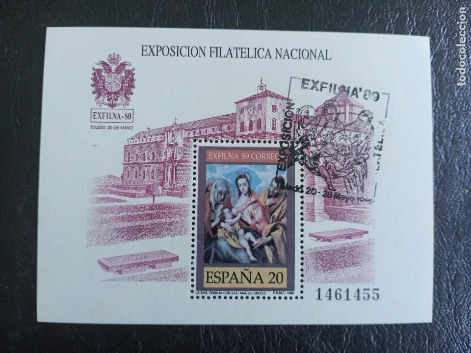 SELLO ESPAÑA USADO EDIFIL 3012 -1989 (Sellos - España - Juan Carlos I - Desde 1.986 a 1.999 - Usados)