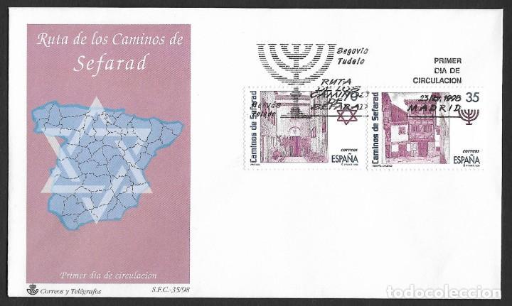 ESPAÑA - SPD. EDIFIL NSº 3600/03 CON DEFECTOS AL DORSO (Sellos - España - Juan Carlos I - Desde 1.986 a 1.999 - Cartas)