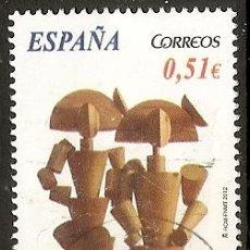 Sellos: ESPAÑA 2012. ARTE CONEMPORANEO. MANOLO VALDES. EDIFIL Nº SH4739C. Lote 210128562