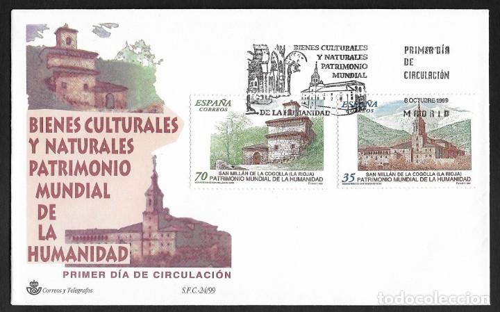 ESPAÑA - SPD. EDIFIL NSº 3662/63 CON DEFECTOS AL DORSO (Sellos - España - Juan Carlos I - Desde 1.986 a 1.999 - Cartas)