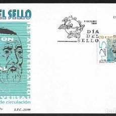 Sellos: ESPAÑA - SPD. EDIFIL Nº 3664 CON DEFECTOS AL DORSO. Lote 210208860