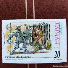 Selos: SELLO ESCENAS DEL QUIJOTE ESPAÑA. Lote 210387442