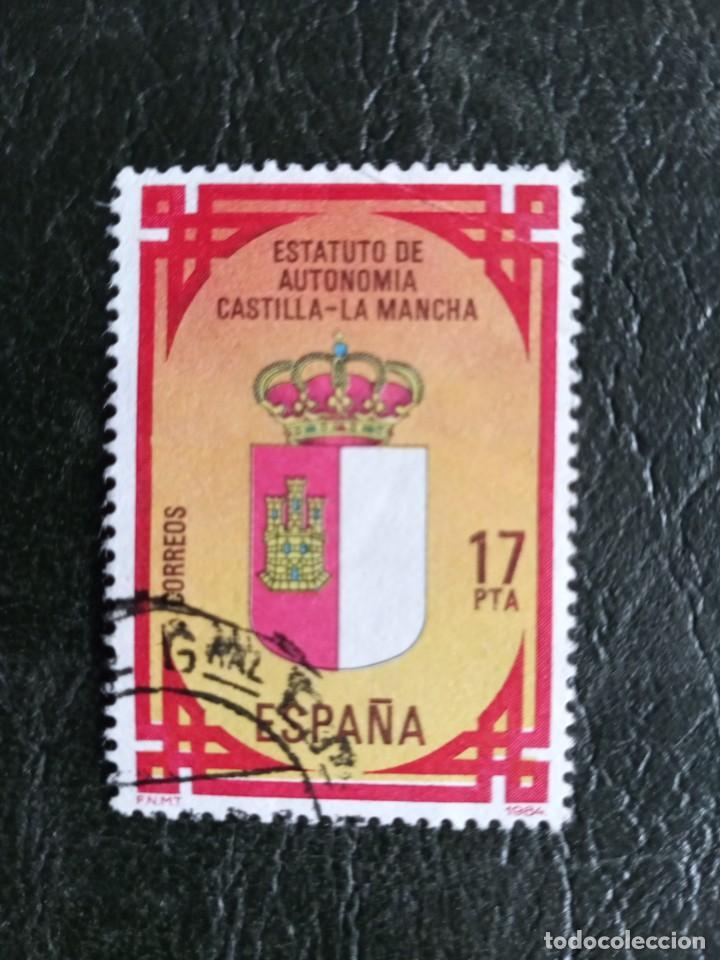 SELLO ESPAÑA USADO EDIFIL 2738 - 1984 (Sellos - España - Juan Carlos I - Desde 1.975 a 1.985 - Usados)
