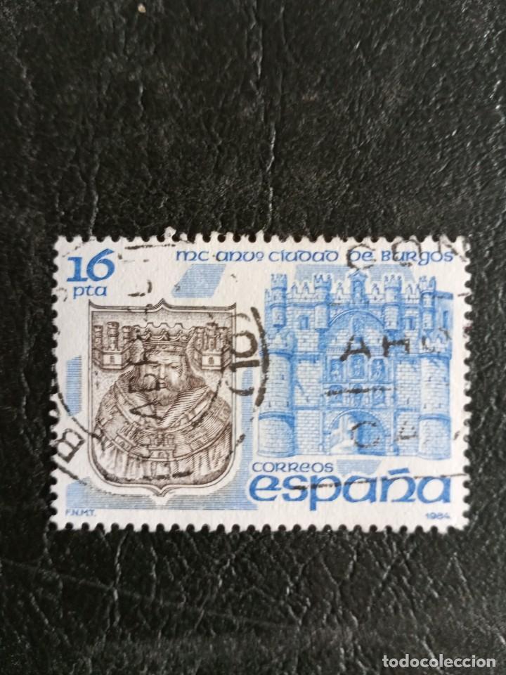 SELLO ESPAÑA USADO EDIFIL 2743 - 1984 (Sellos - España - Juan Carlos I - Desde 1.975 a 1.985 - Usados)