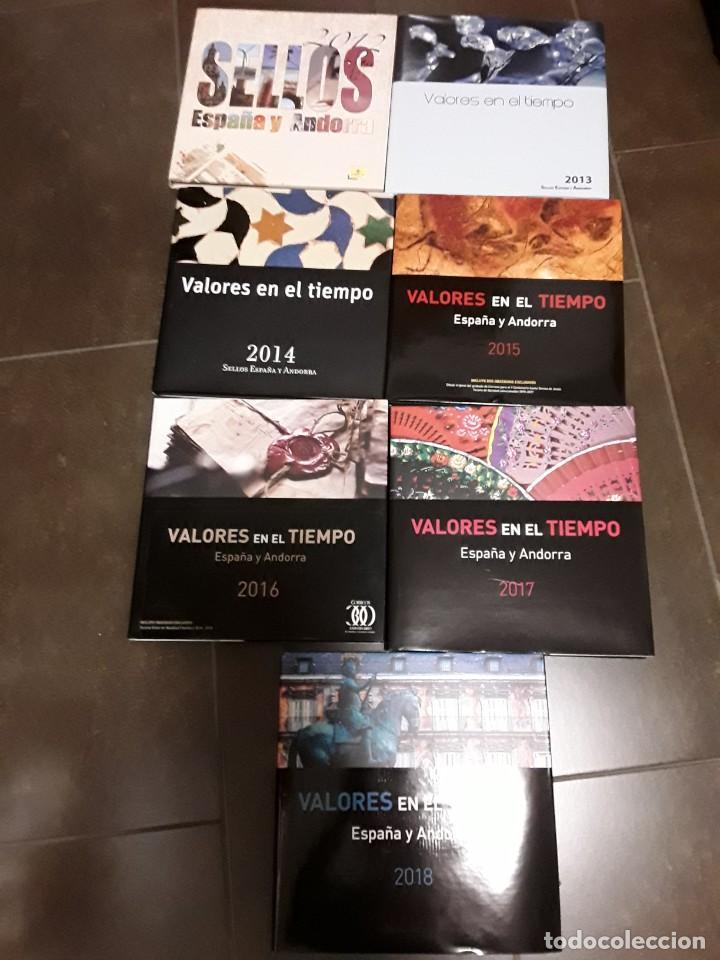 COLECCION COMPLETA SELLOS 2012,2018 (Sellos - España - Juan Carlos I - Desde 2.000 - Nuevos)