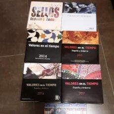 Sellos: COLECCION COMPLETA SELLOS 2012,2018. Lote 210422592