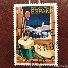 Sellos: SELLO NAVIDAD 1987 ESPAÑA. Lote 210518186