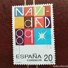 Sellos: SELLO NAVIDAD 1989 ESPAÑA. Lote 210518271