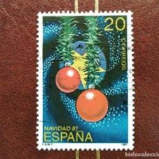 Sellos: SELLO NAVIDAD 1987 ESPAÑA. Lote 210518430