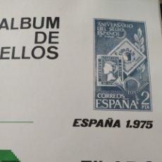 Sellos: ALBUM FILABO DE SELLOS AÑOS 1975 A 1980.. Lote 210646300