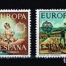 Sellos: ESPAÑA 1976 - EDIFIL 2316-17** - EUROPA CEPT. Lote 210664170